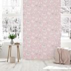 Papel pintado mariposas rosas 954