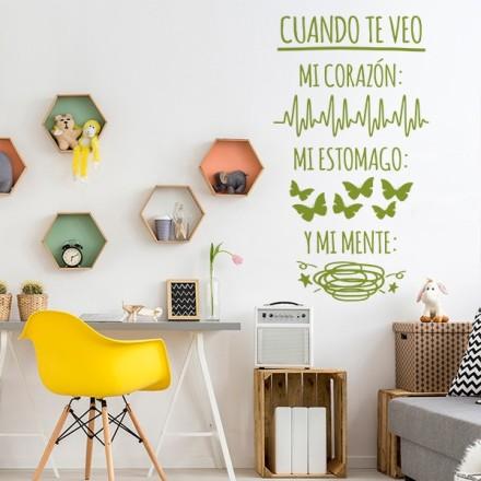 Vinilo Decorativo Texto TE034