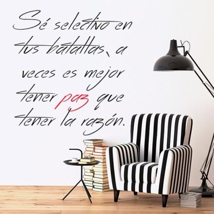 Vinilo Decorativo Texto TE207