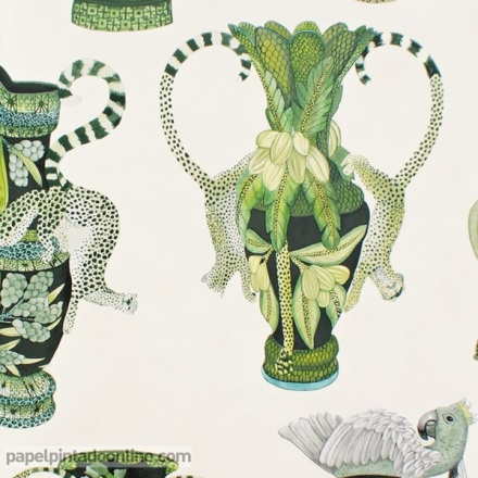 Papel pintado The Ardmore collection Khulu Vases 109-12056