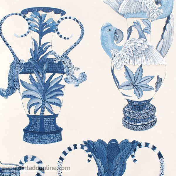 Papel pintado The Ardmore collection Khulu Vases 109-12059