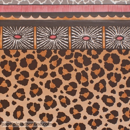 Papel pintado The Ardmore collection Zulu Border 109-13060