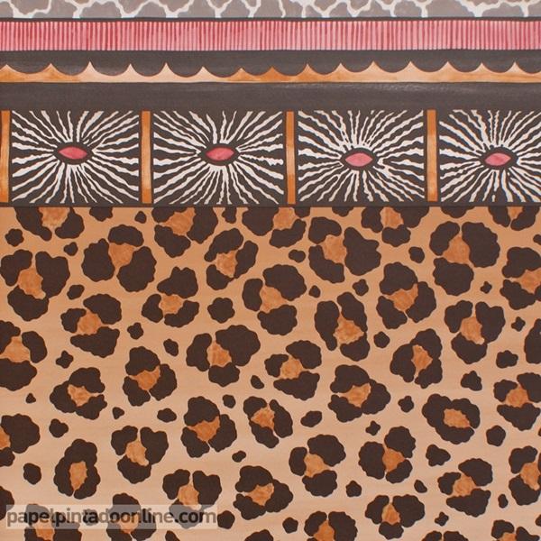 Papel pintado The Ardmore collection Zulu Border 109-13060