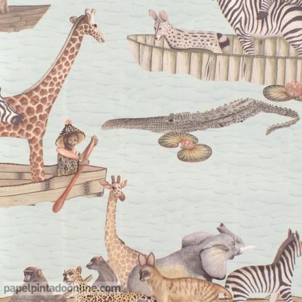 Papel pintado The Ardmore collection Zambezi 109-14063