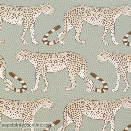 Papel pintado The Ardmore collection Leopard Walk 109-2009