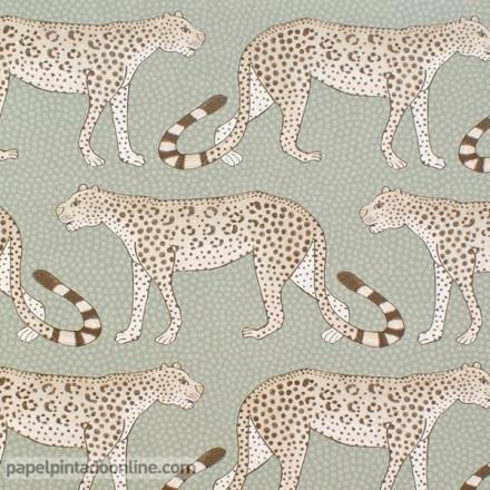 Papel pintado The Ardmore collection Leopard Walk 109-2009