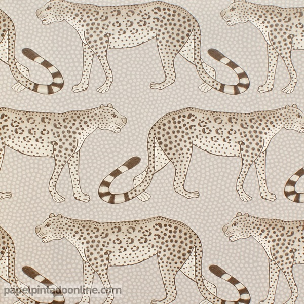 Papel pintado The Ardmore collection Leopard Walk 109-2012