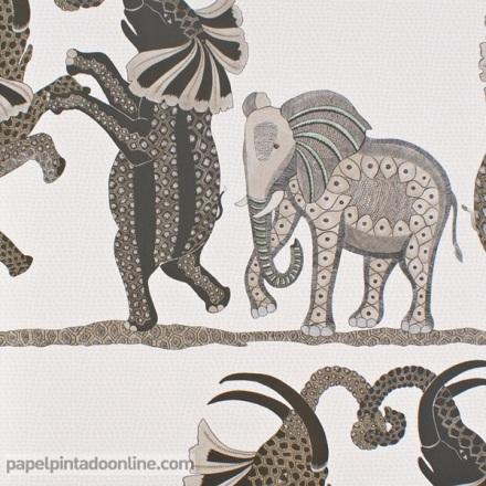Papel pintado The Ardmore collection Safari Dance 109-8036