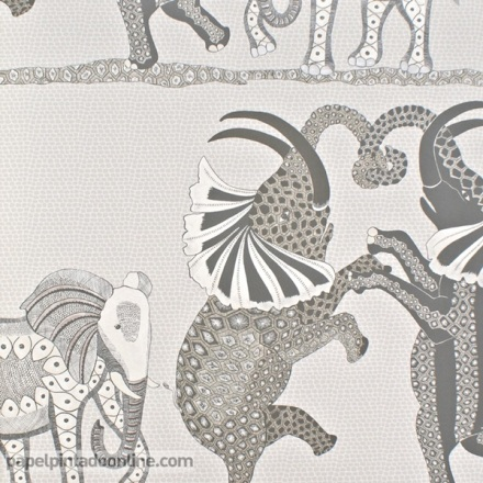 Papel pintado The Ardmore collection Safari Dance 109-8037