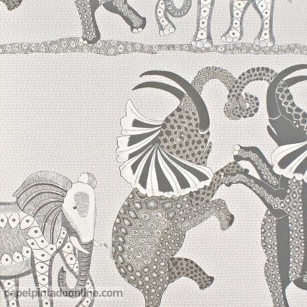 Papel pintado The Ardmore collection Safari Dance 109-8037