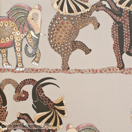 Papel pintado The Ardmore collection Safari Dance 109-8038