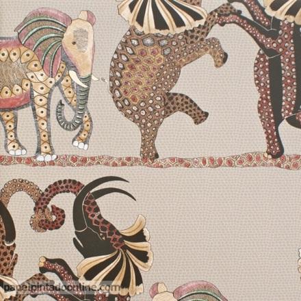 Papel pintado The Ardmore collection Safari Dance 109-8038