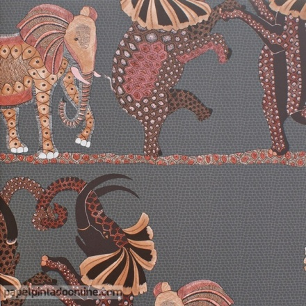 Papel pintado The Ardmore collection Safari Dance 109-8040