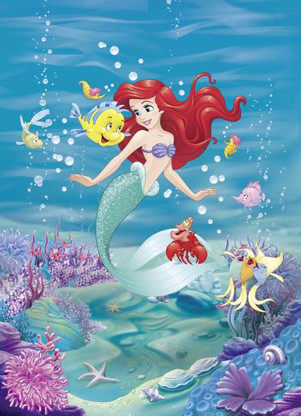 Fotomural Ariel Singing 4-4020