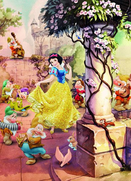 Fotomural Dancing Snow White 4-494