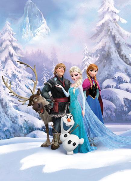 Fotomural Frozen Winterland 4-498