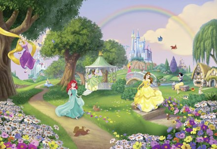 Fotomural Princess Rainbow 8-449