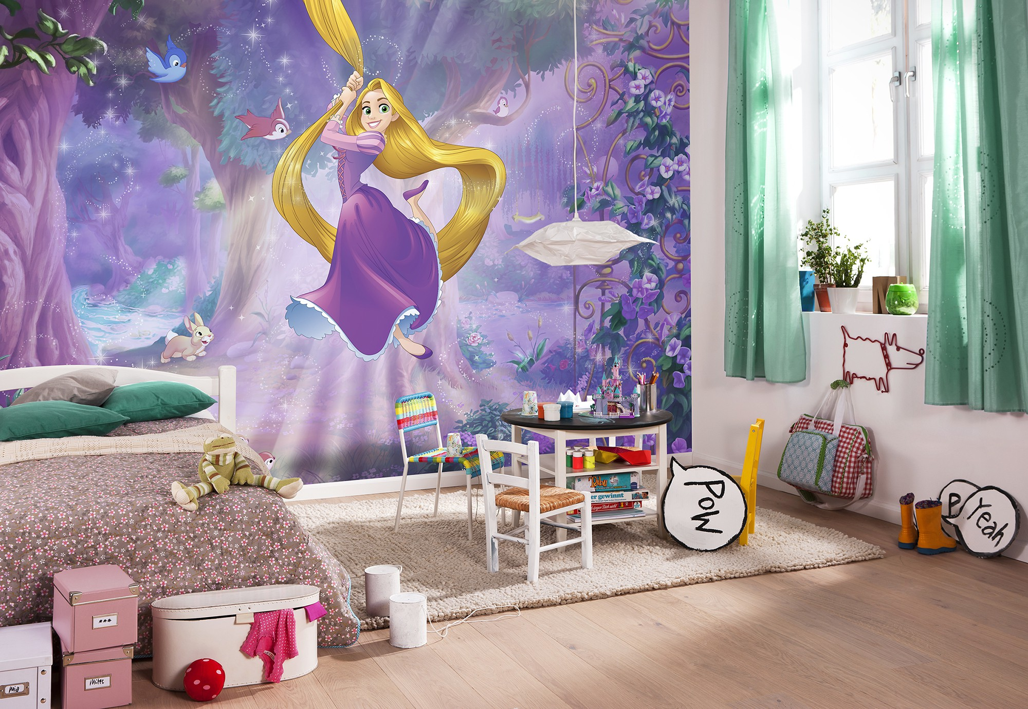Fotomural Princesa Rapunzel 8-451
