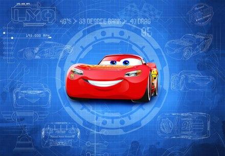 Fotomural Cars3 Blueprint 8-488