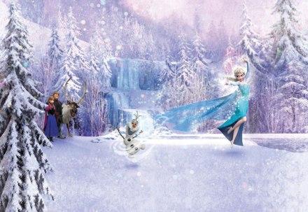 Fotomural Frozen Forest 8-499