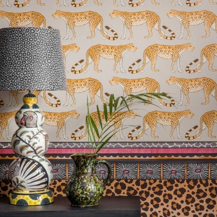 Papel pintado The Ardmore collection Leopard Walk