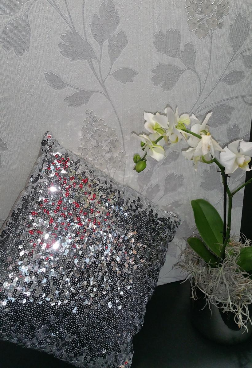 Papel pintado flores elegante Heimtextil 2018