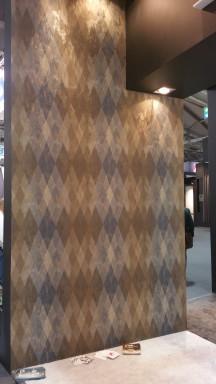 Papel pintado moderno geometrico desgastado