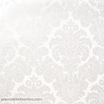 Papel pintado medallón blanco perla 5288-5