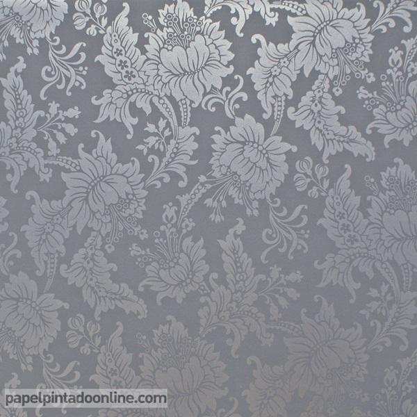 Papel pintado flores 5292-3