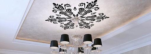 Vinilos decorativos para techos