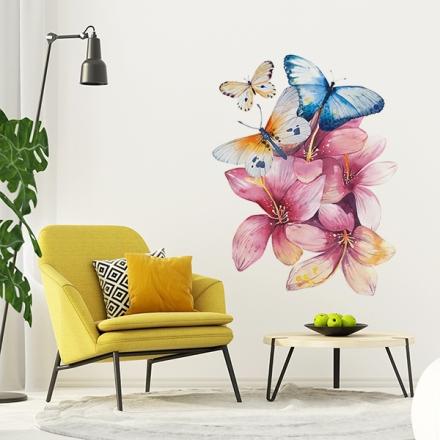 Vinilo Floral 1002