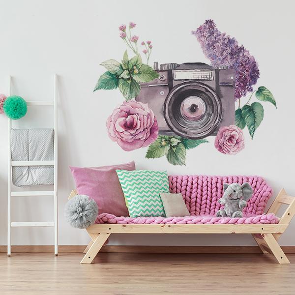 Vinilo Floral 1003