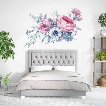Vinilo Floral 1009