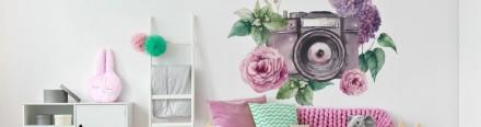 Vinilos Florales impresión digital