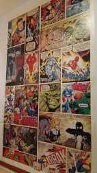 Papel pintado cómic Marvel