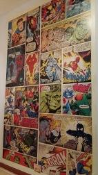 Papel pintado cómic Marvel