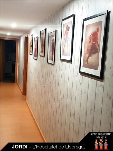 papel pintado listones de madera tienda papel pintado barcelona