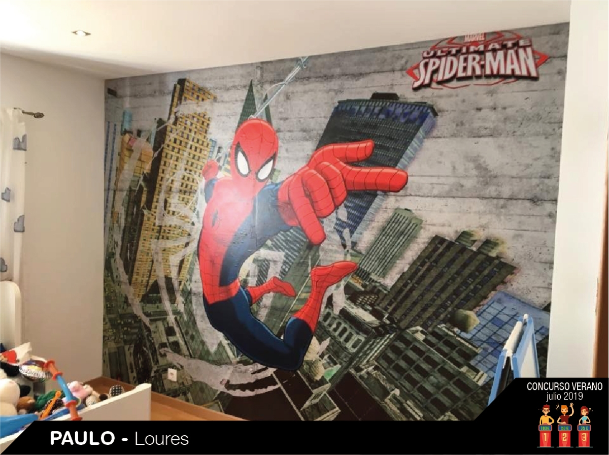 Fotomural Spiderman papel pintado barcelona