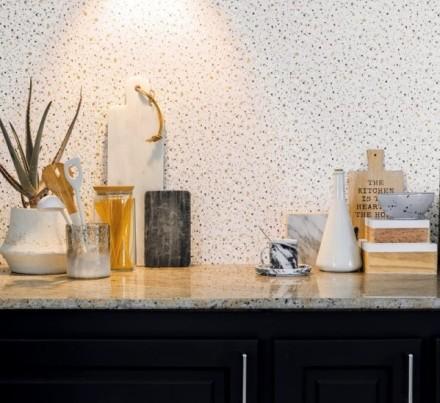 Papel pintado granito para cocinas