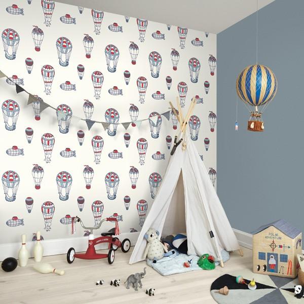 La imagen tiene un atributo ALT vacío; su nombre de archivo es papel-pintado-infantil-globos-animales-little-world-561024-1.jpg